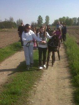 Passeggiate in conduzione con le famiglie nel Parco del Ticino